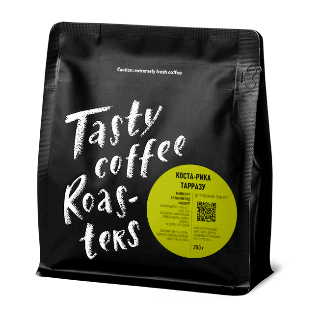 Плантационный кофе Коста-Рика Тарразу фото