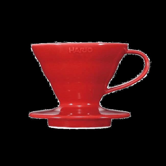 Воронка Hario (керамическая красная)