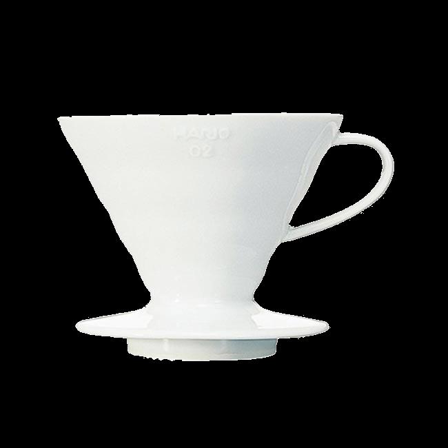 Аксессуары Воронка Hario (керамическая белая) фото