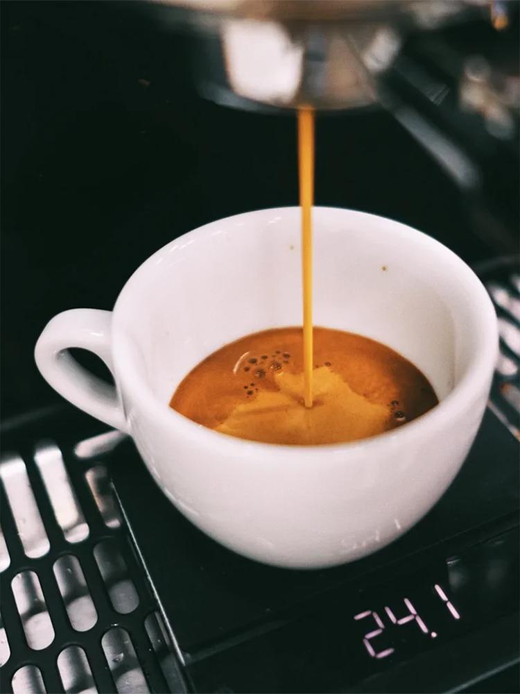 Крема у кофе