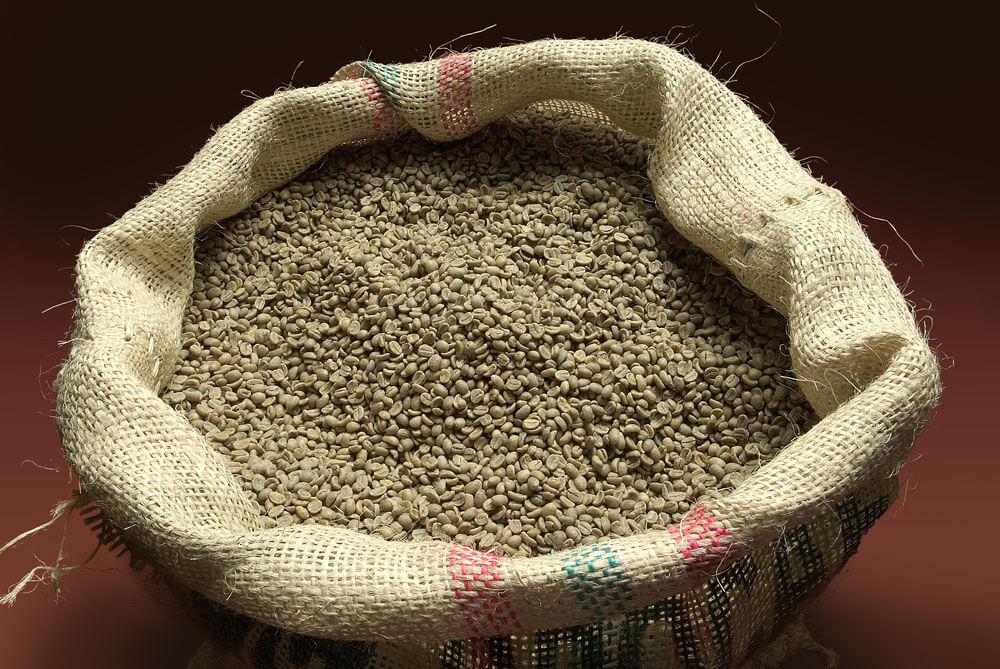 Джутовый мешок для кофе
