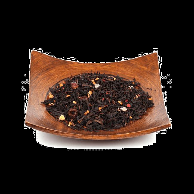 Чай/Черный ароматизированный чай Ягодный микс фото