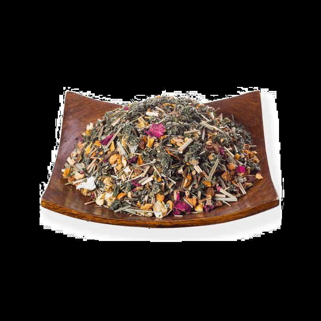 Чай Травяной с имбирём фото