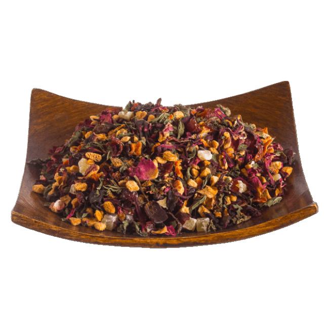 Чай Мятный фрукт фото
